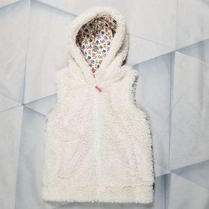 Mini Boden Girls Faux Fur Jacket